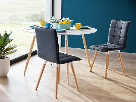 Sedie Blu Cucina : Sedia blu scuro design moderno sedie da pranzo imbottite