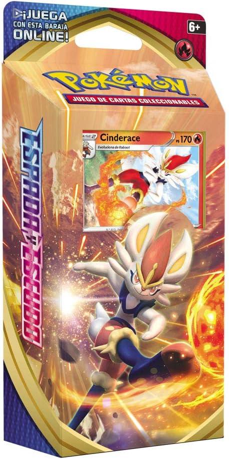 Pokemon- Baraja Temática Espada y Escudo, Modelos Aleatorios (Bandai PC50085) , color/modelo surtido