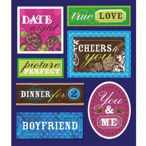 UPC 643077586178, K&Company Boyfriend Sticker Medley