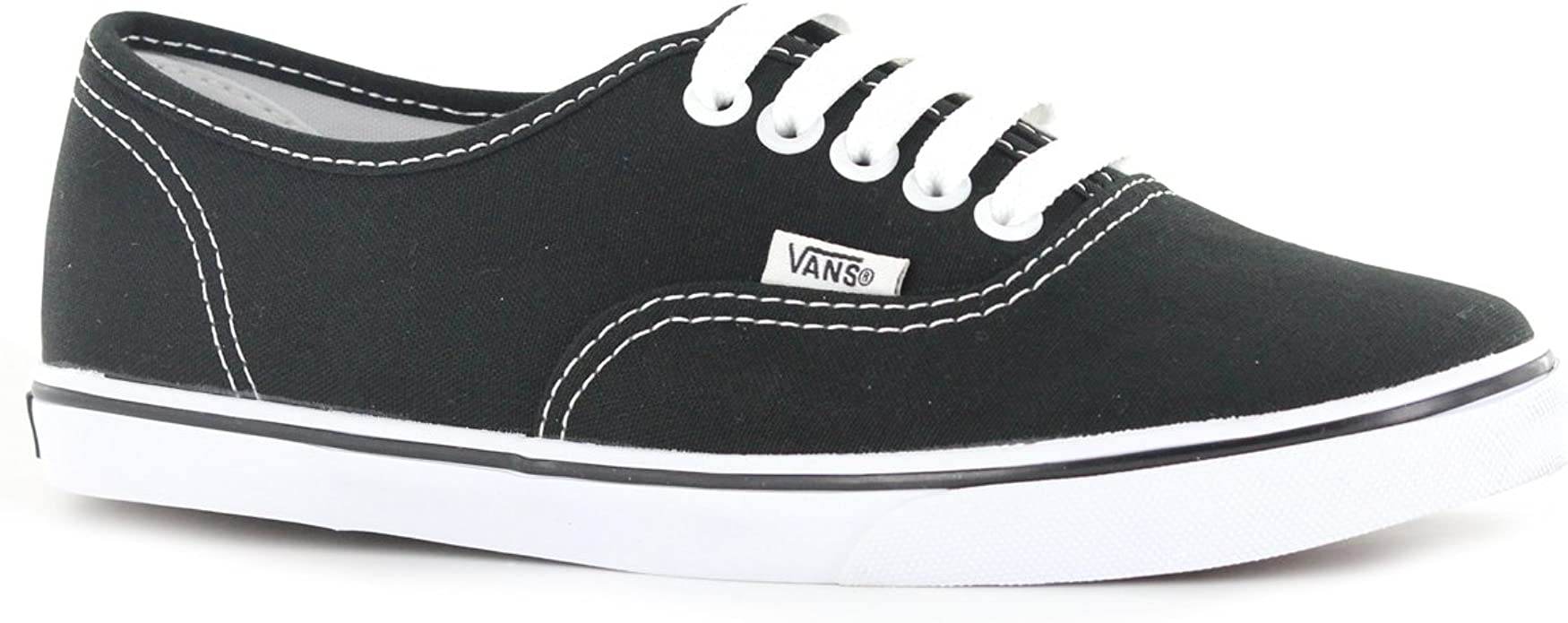 Vans U Classic Authentic BlackBlack Canvas VN000EE3BKA Skate Shoe