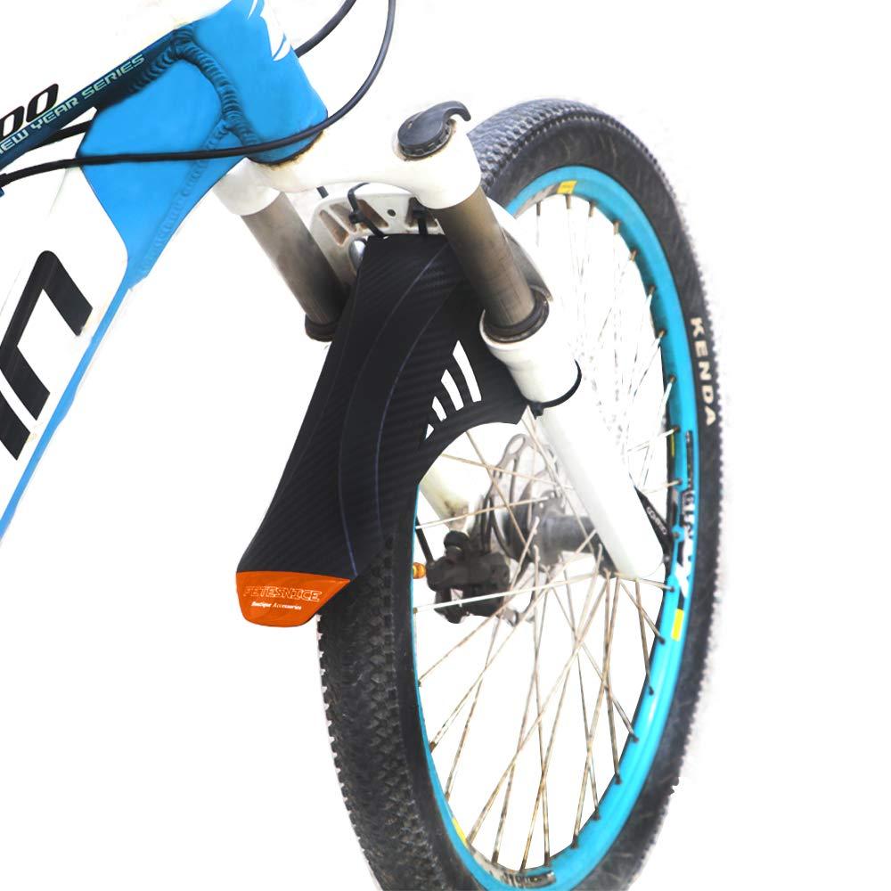 YOLOKE MTB Schutzblech,Vorne Hinten Fahrrad Schutzblech F/ür 26//27,5//29 Zoll Fettreifen Fahrrad Spritzschutz Mud