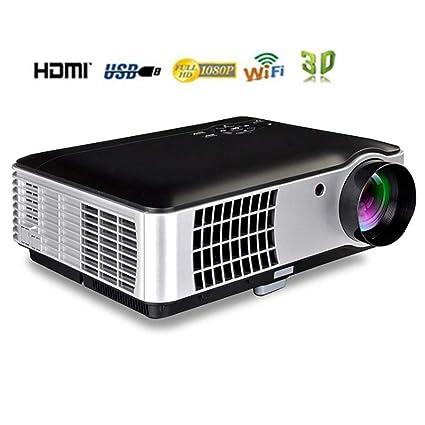 Proyector, proyector de video pico Proyector con cable HDMI ...