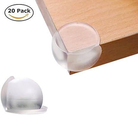 20 pcs Yiya bebé Safty transparente mesa esquina pantalla/niños ...