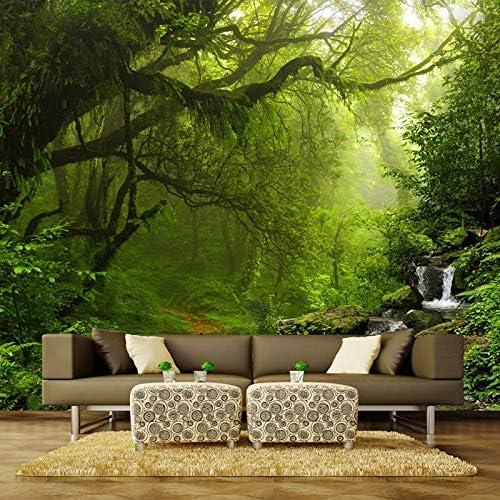 HANHUAN 壁壁画3D森林風景壁画リビングルームベッドルーム壁装飾壁画壁紙