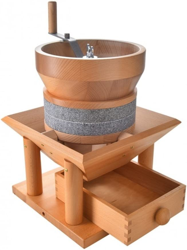 Salzburger Hand Mill MH 8 with Natural Granite Millstones