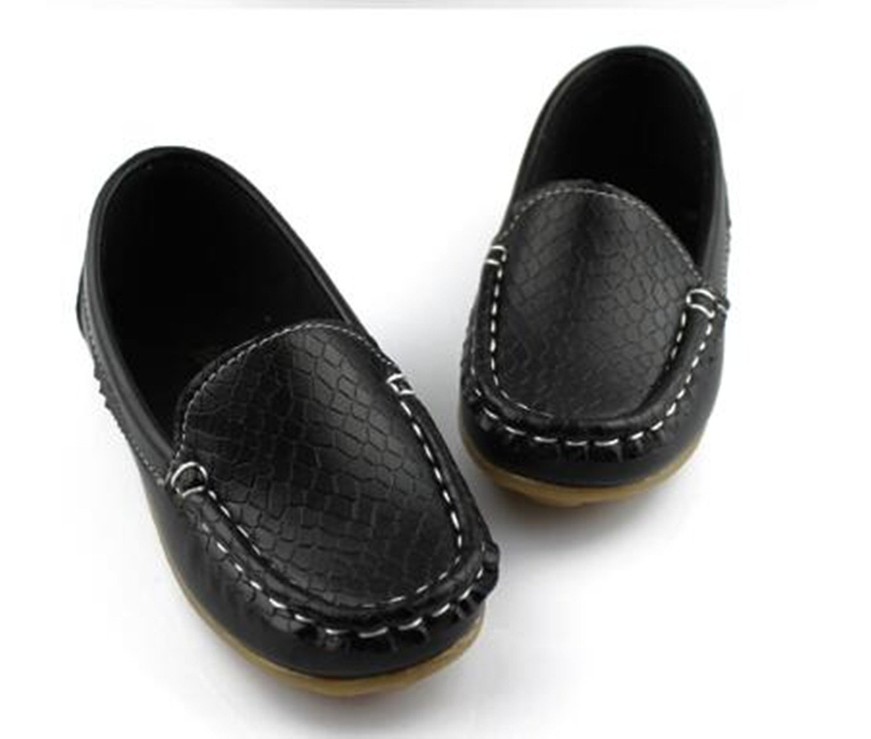 Sakuracan Boys Girls Leather Loafers Slip-on Boat Dress-Shoes (Toddler/Little Kid) by Sakuracan (Image #5)