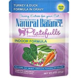 Natural Balance Platefulls Grain Free Cat Food, Turkey & Duck Formula In Gravy, 3-Ounce Pouches (Pack Of 24) Review