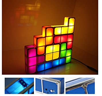 ... Amazon Ecoss Tetris Stackable Led Desk Lamp With Amazon Ecoss Tetris  Stackable Led Desk Lamp With ...