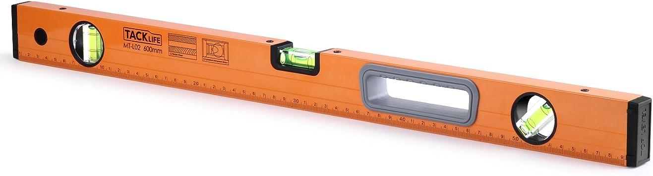 1000 mm Set livella a bolla per costruttori Livella Ad Alta Precisione in 3 pezzi 400 mm livella in alluminio 600 mm