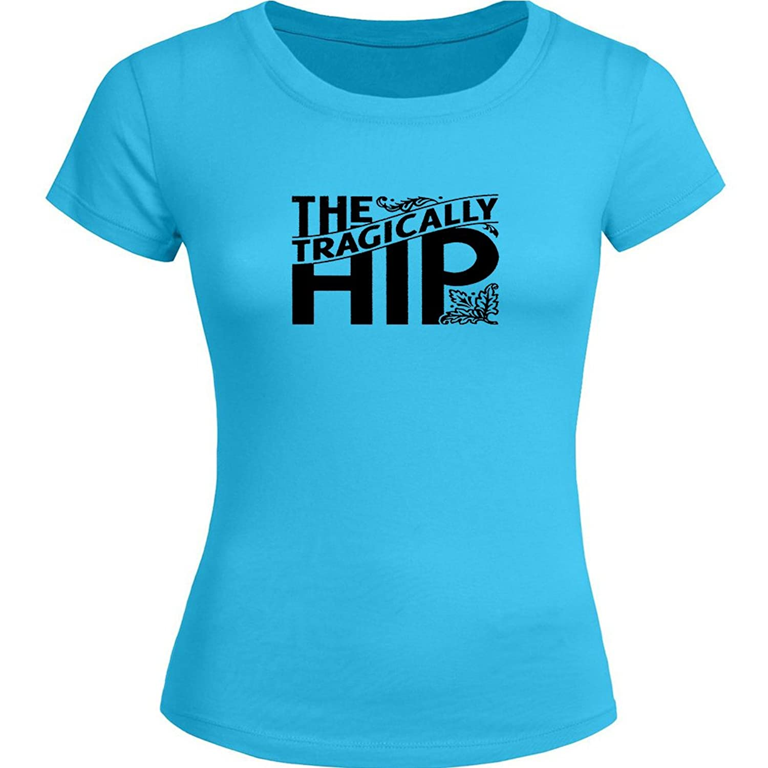 The Tragically Hip Printed For Ladies Womens T Shirt Tee
