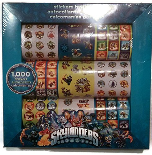 Skylanders Stickers by the Roll - 1000 (Skylanders Stickers)