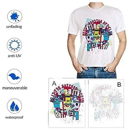 Papel de Transferencia de Calor para Impresoras de Camiseta ...