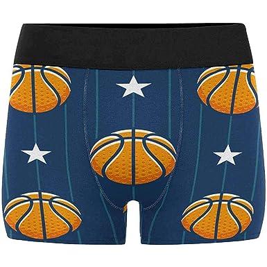 Baloncesto Star Sports Pattern Boxer Ropa Interior Breve para ...