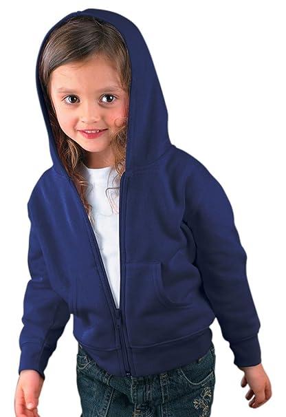 f19a0d55 Amazon.com: Rabbit Skins Toddler Fleece Zip Hoodie - Navy - 5/6T ...