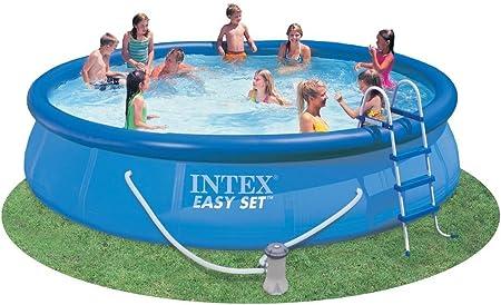 Amazon.com: Intex 54913eg Easy Set piscina Set, 15-Feet by ...