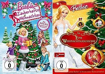 Barbie Zauberhafte Weihnachten 2019.Barbie Zauberhafte Weihnachten Eine Weihnachtsgeschichte 2 Dvd
