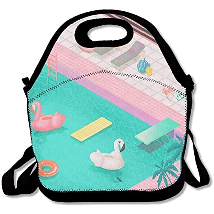 Amazon Com Shicongtai Lunch Boxes It S Pool Time Lunch Tote