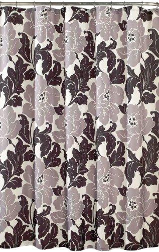 m.style Roma Shower Curtain, Black/White