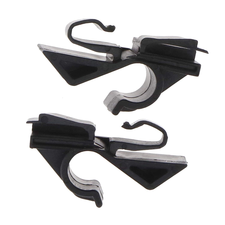 71719952//71719953 Rear Parcel Shelf Clips Car Seat Headrest Hooks Hanger Organizer Holder Plastic Clip