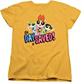 Powerpuff Girls Cartoon Network Women's T Shirt & Stickers