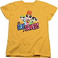 Powerpuff Girls Cartoon Network Women's T Shirt & Stickers