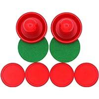 YeahiBaby 4Pcs Air Hockey Pucks, 2Pcs 76 mm