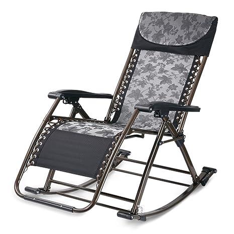 Mecedoras Mecedora silla perezoso de balcón de sala de estar ...