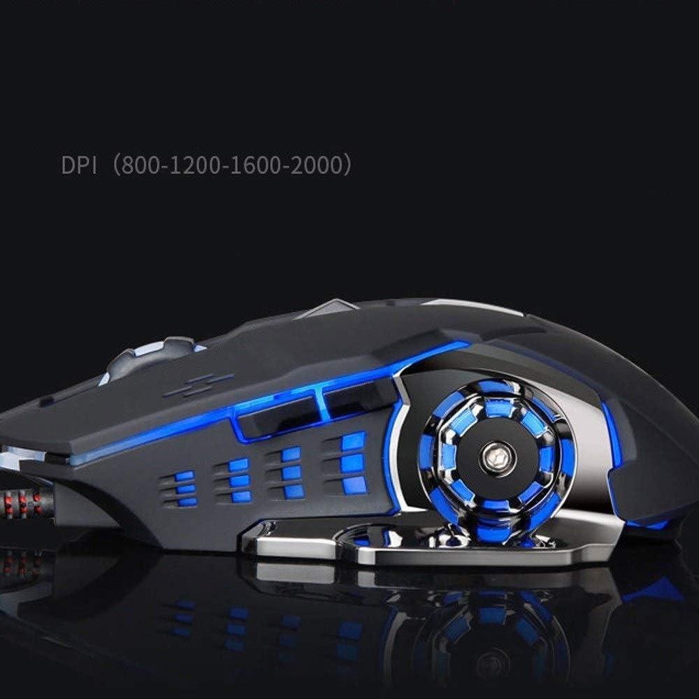 Wireless Gaming Keyboard and Mouse Set Breathing Backlit Mouse Gaming Keyboard Mouse Combo Backlit Gaming Keyboard