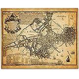 Boston Map 1769 Art Print - 11x14 Unframed Art Print - Great Vintage Home Decor