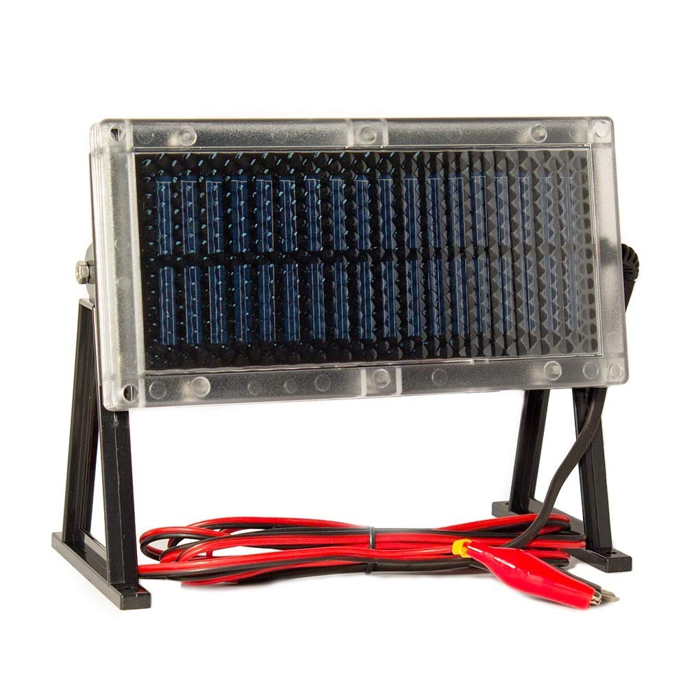 Universal Power Group 6 Volt Solar Panel Deer Feeder 6v Wiring Free Download Diagram Battery Charger Automotive