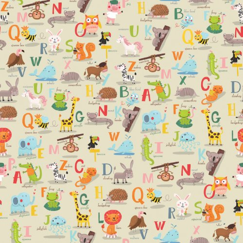 Jillson Roberts Recycled Animal Alphabet product image
