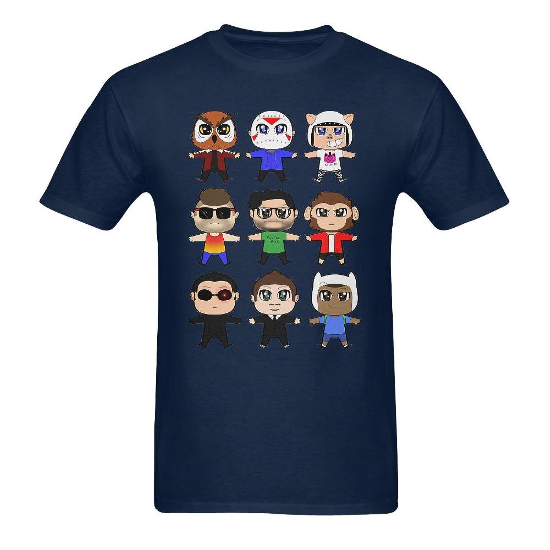 good SLJD Men's VanossGaming Youtuber Design T Shirt ...