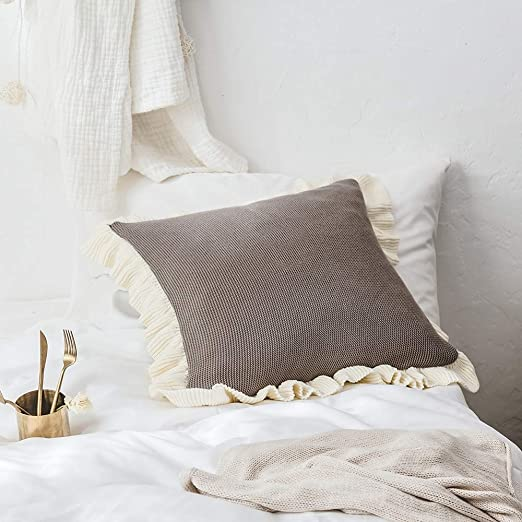 Huichao Townssilk Doble Cara 100% algodón Cuadrado 45x45cm ...