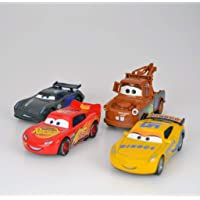 Cars 3 Şİmşek Mcqueen Jackson Storm Ramirez Cruze Mater 4lü set