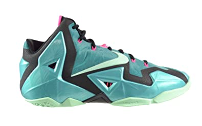 Nike Lebron XI South Beach Men s Basketball Shoes Sport Turquoise Medium  Mint-Black 616175 e8a308567