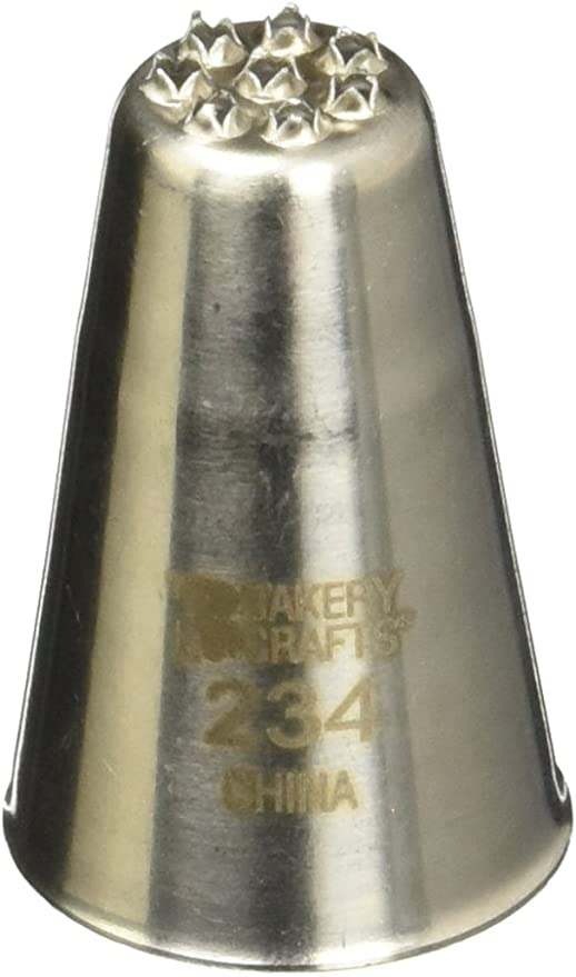 Oasis Supply No.2 Stainless Steel Icing Tube Large Star