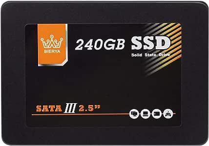 Disco Duro Interno sólido de 240GB SSD 3D Nand de 7 mm para ...