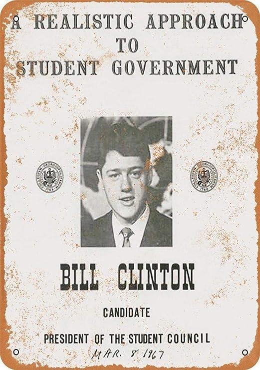 KODY HYDE Póster De Pared Metal - Bill Clinton - Cartel De ...