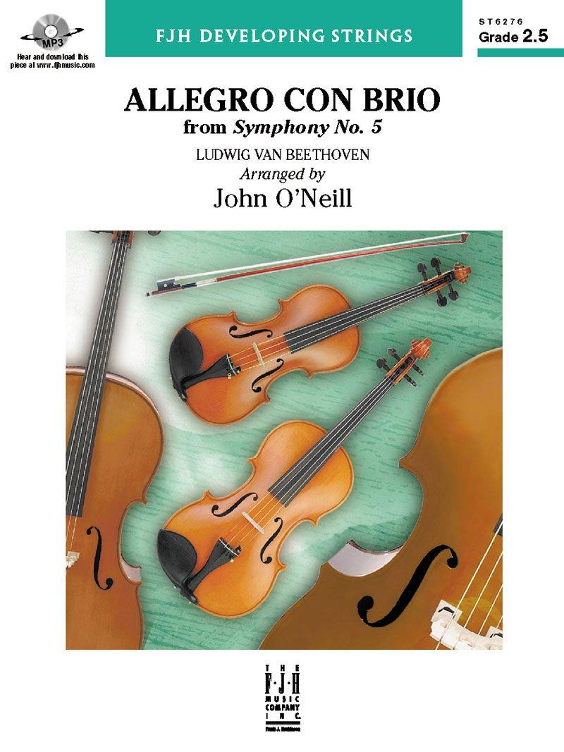 Amazon com: Allegro con brio from Symphony No  5 - String