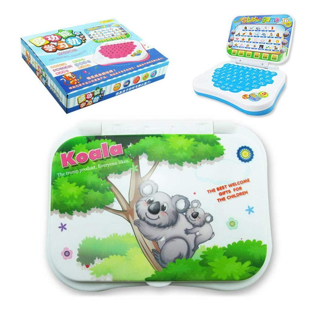 KOKOBUY Unisex Baby Learning Machine,Multifunction Language Learning Reading Machine Kids Educational Toys