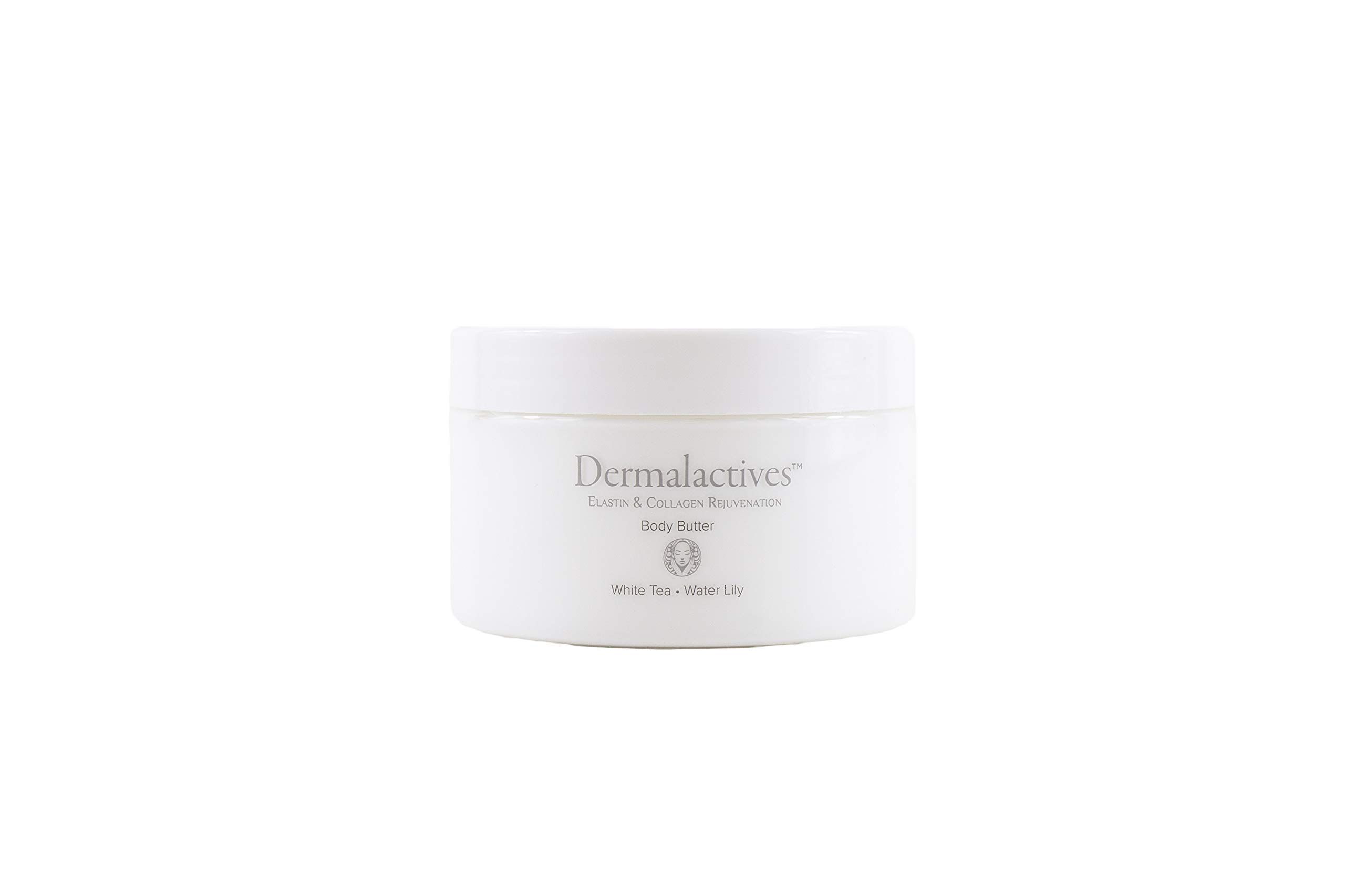 Dermalactives Replenishing & Nourishing Body Butter - All Natural Way To Provide Your Skin With a Protective Layer That Will Keep Your Skin Smooth, Soft and Healthy (White Tea)
