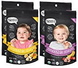 Nosh Smoothie Snaps 100% Fruit Puree Freeze-Dried Toddler Snack Bites, 1 Ounce, Variety Pack (Pack of 4)