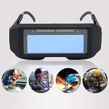 FOONEE - Gafas de Soldadura con oscurecimiento automático de energía Solar, Gafas de Soldadura con