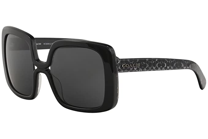 Amazon.com: Coach - Gafas de sol para mujer, negro: Clothing