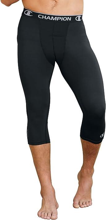 Amazon Com Champion Men S 3 4 Compression Tight Clothing