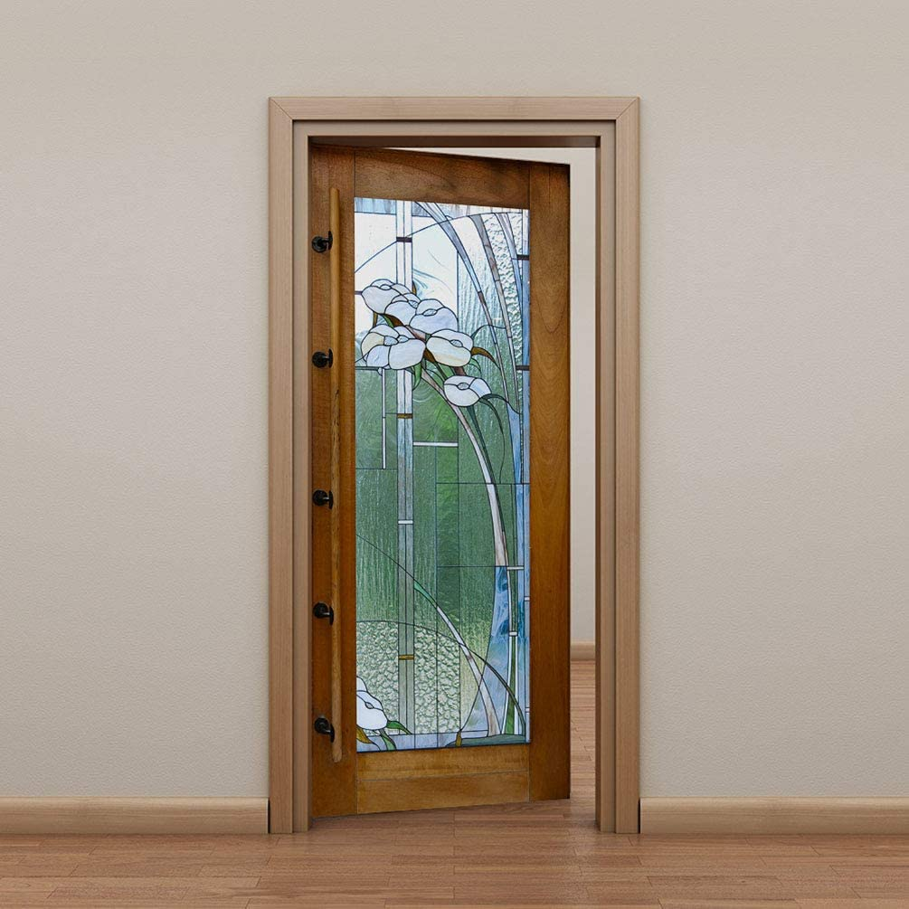 Bedroom PVC Self-adhesive Window Glass Wall Sticker Decal