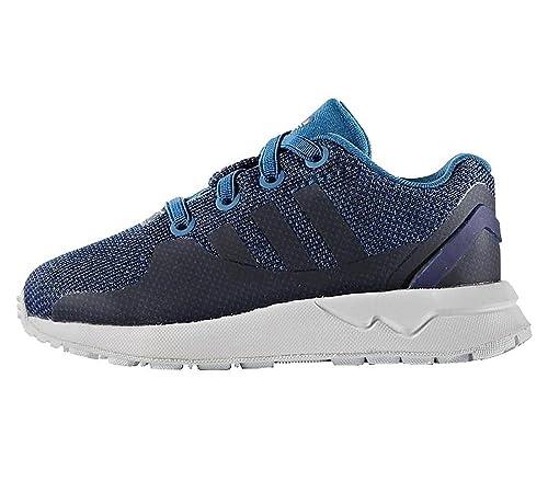 d2b18d2e4735c Adidas ZX FLUX ADV TECH Sneaker per Bambini e Ragazzi Blue