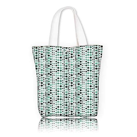 fc1fdbd7f2 Amazon.com  Women s Canvas Tote Handbags —W15 x H14 x D4.7 INCH ...