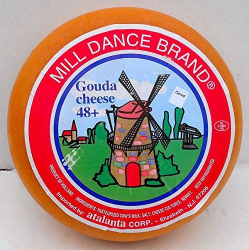 Cheese Gouda Aged 1year (5 Lb Half Wheel)