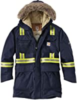 Carhartt Mens 100783 Flame-Resistant Extremes Arctic Parka - Sherpa L